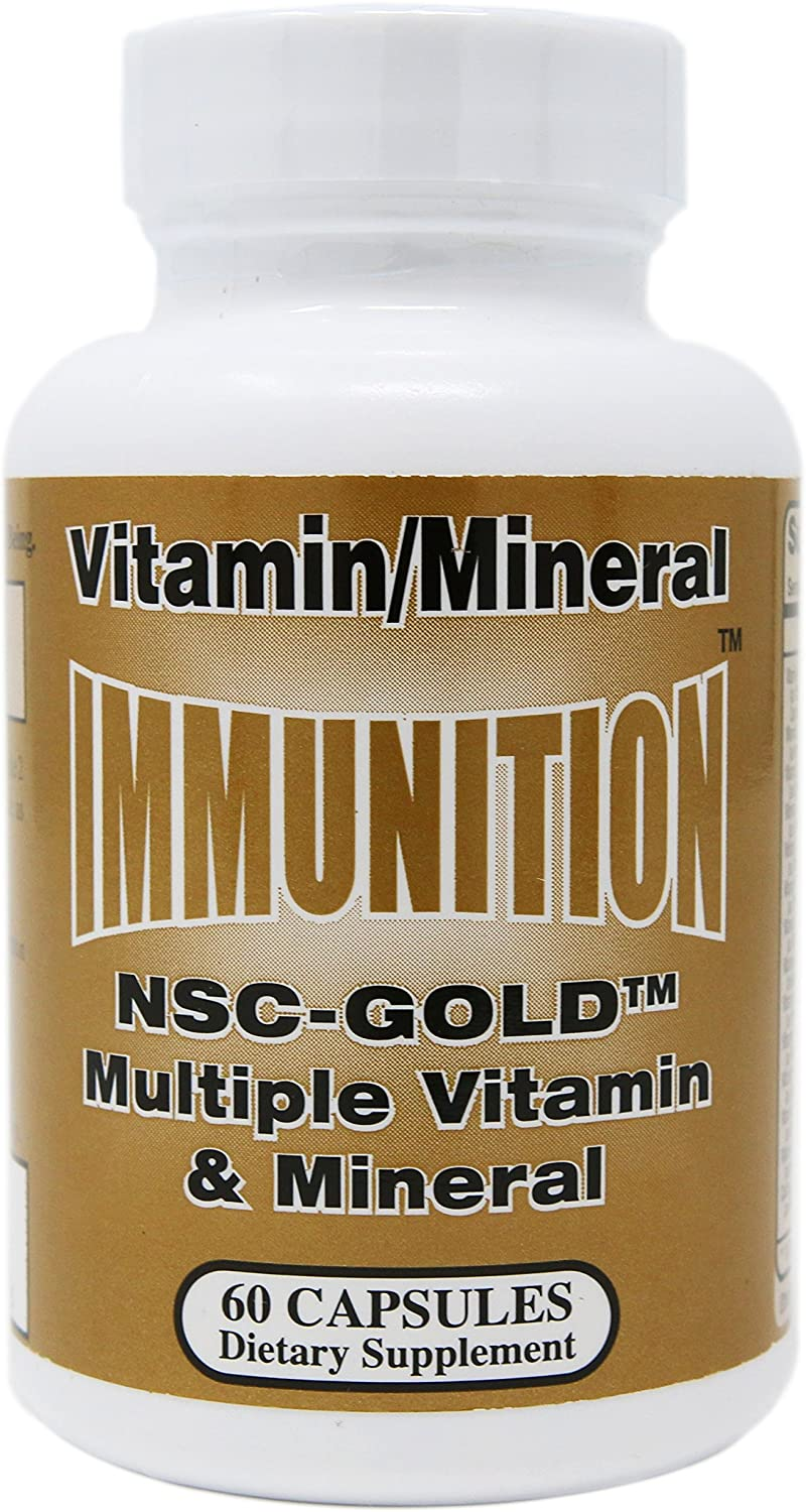 NSC Gold Multiple Vitamin & Minerals 60 Capsules
