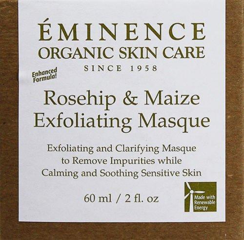 Eminence Rosehip and Maize Exfoliating Masque 2oz(60ml) Oily Sensitive Skin New Fresh Product