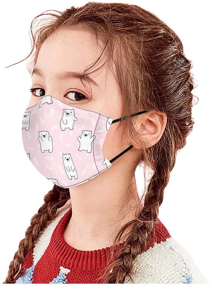Adeliber Children's Cartoon Cotton Protection, Reusable dust-Proof air Filter(G,1PC)