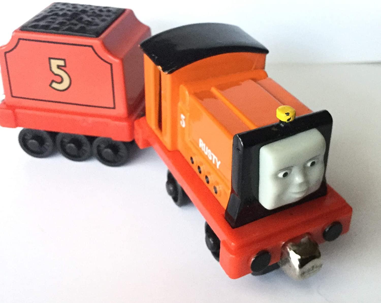 Learning Curve Thomas Train Rusty #5 & Coal-Tender, Die Cast