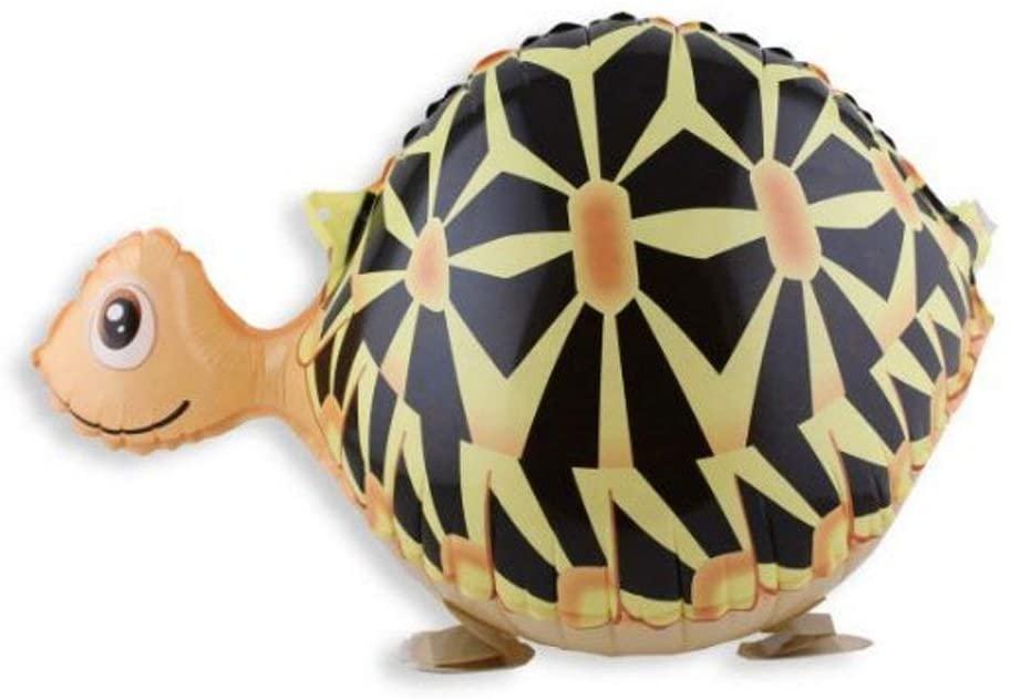 Birthday Kids Party Toy Walking Turtle Helium Balloon, Set of 3