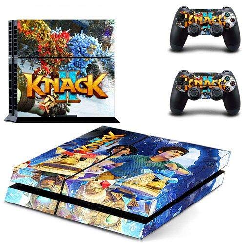 Adventure Game - PS4 Skin Console and 2 Controller, Vinyl Decal Sticker Full Cover Protective by Mr Wonderful Skin