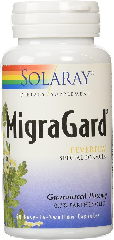 Solaray MigraGard, Veg Cap (Btl-Plastic) 350mg | 60ct