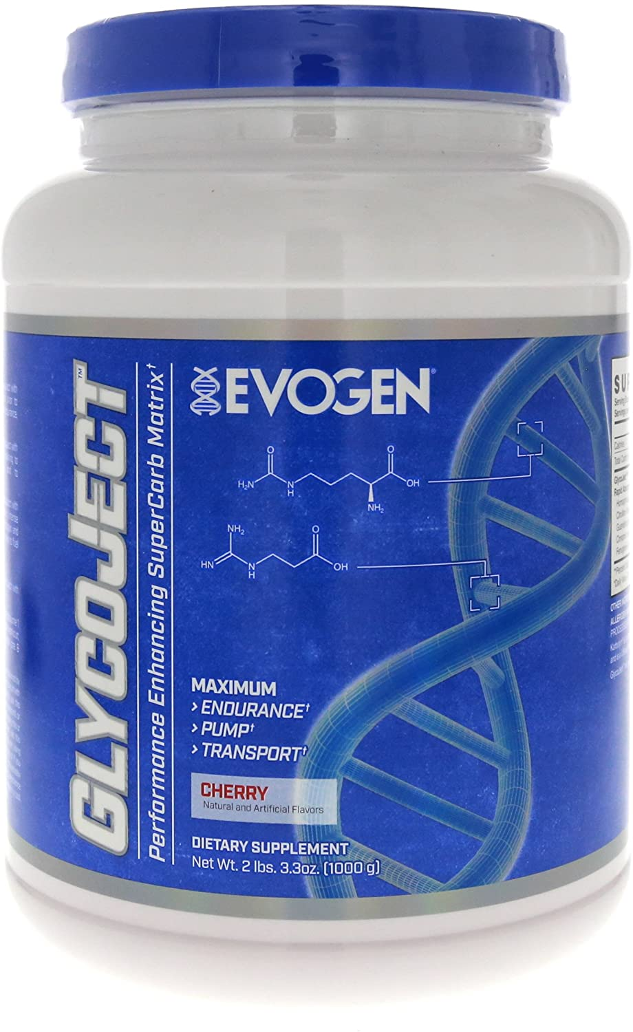 Evogen GlycoJect   Extreme Karbolyn® Carbohydrate Powder   Cherry   36 Servings …