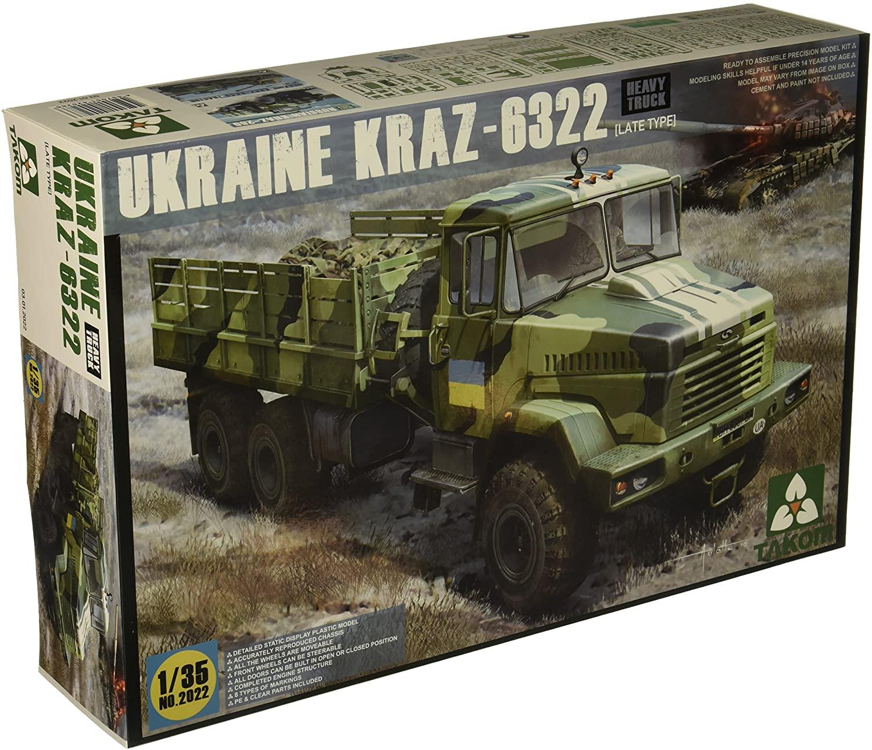 TAKom Ukraine KRA-6322 Late Type Model Kit (1/35 Scale)