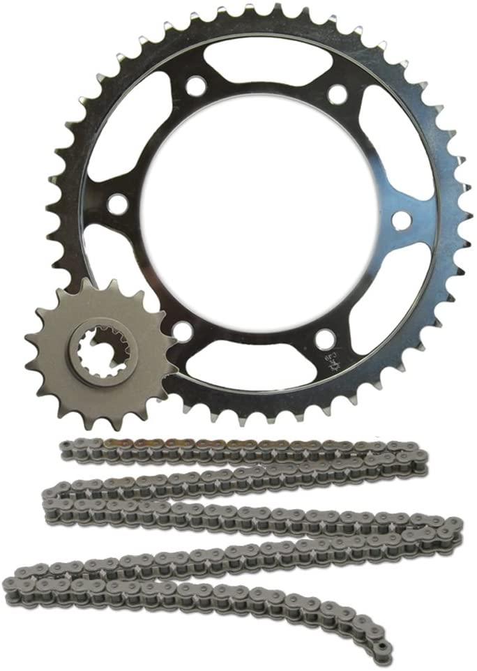 JT Sprockets JTSK1063 530Z1R Chain and 17 Front/45 Rear Tooth Sprocket Kit