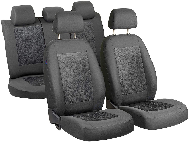 Zakschneider Car seat Covers for Passat - Full Set - Color Premium Gray Velours