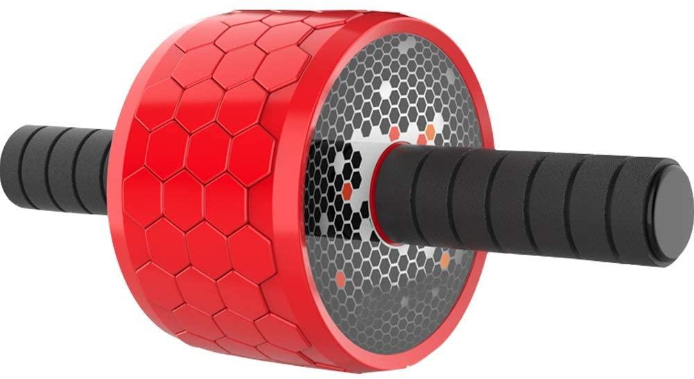 Jiu Si- Abdominal Abdomen Roller Men's Beginners Women's Sports Abdomen Abdomen Thin Waist Abdomen Pulley Home Fitness Equipment Abdominal Wheel (Color : A)