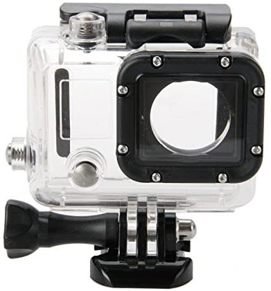 Deyard 45M Underwater Waterproof Protective Housing Case with Quick Release Mount and Thumbscrew for GoPro Hero 3 Action Camcorder - Up to 45 Meters Underwater Photography