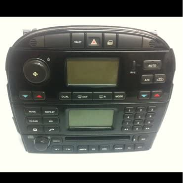 Oem Jaguar Xj8, Vdp, XJR 04-06 Factory Radio 2w93-18b876-aj