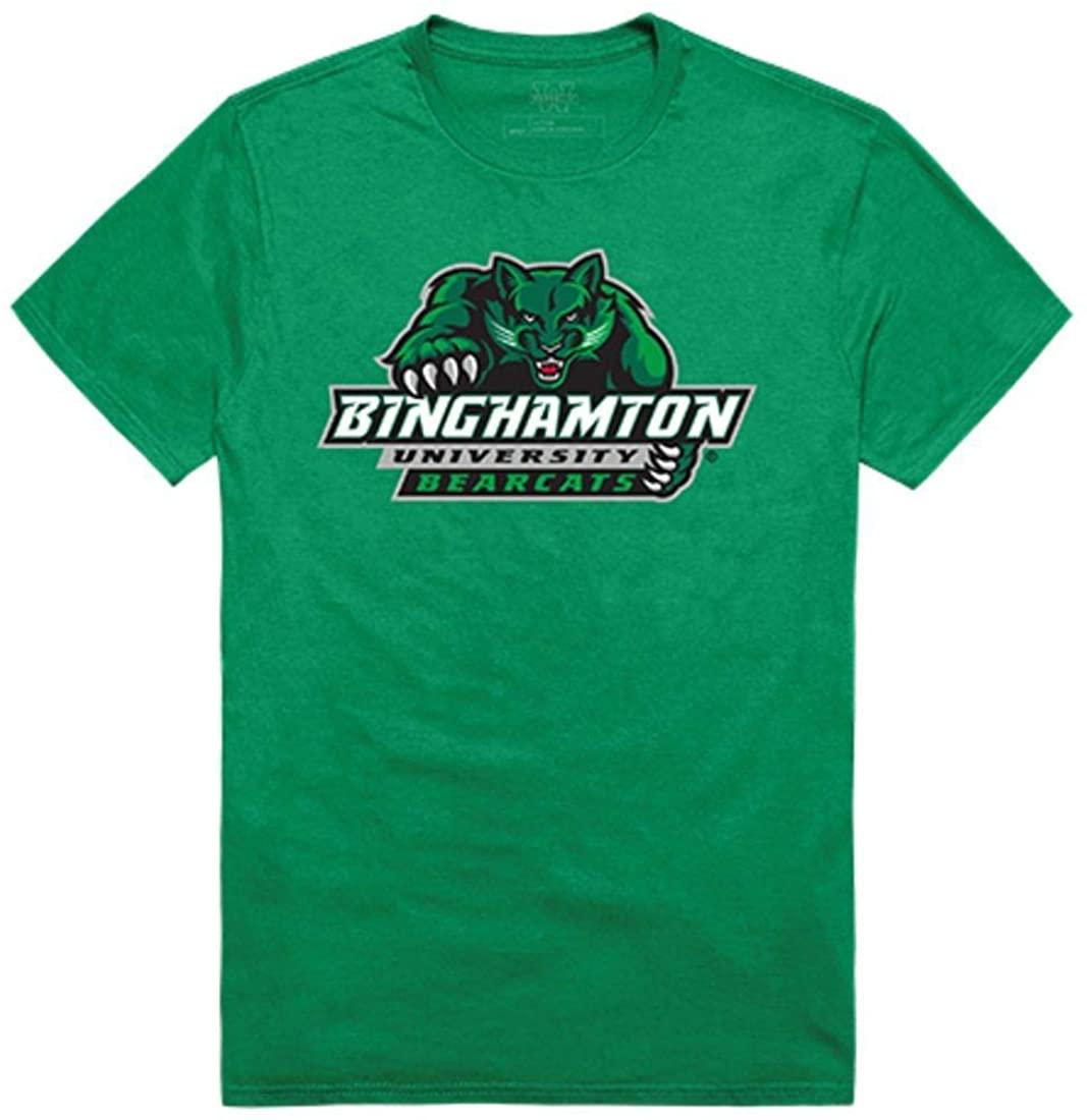 SUNY Binghamton University Bearcats Freshman Tee T-Shirt Kelly Green