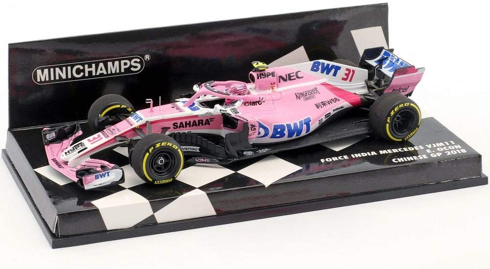 Minichamps Sahara Force India VJM11 Esteban Ocon 2018