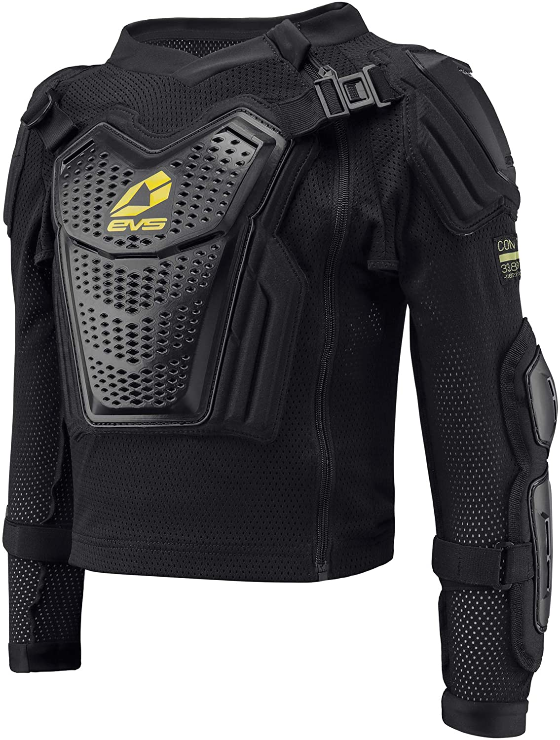 EVS Sports Boy's Youth Comp Suit (Black, Small)