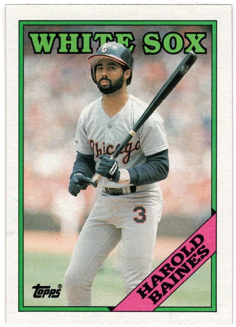Harold Baines - Chicago White Sox (Baseball Card) 1988 Topps # 35 Mint