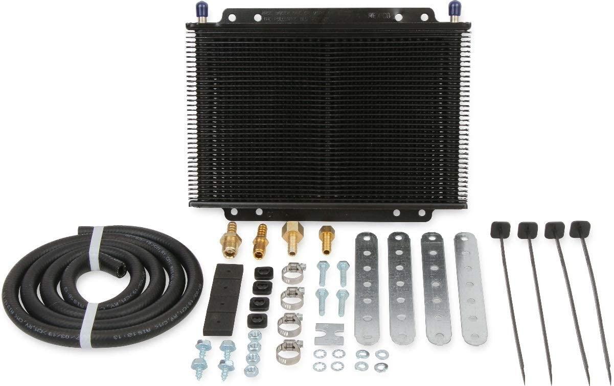 BRAND NEW B&M HI-TEK SUPERCOOLER MEDIUM AUTOMATIC TRANSMISSION OIL COOLER,BLACK,13,000 BTU RATING