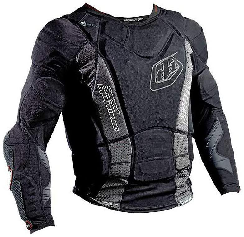 Troy Lee Designs Shock Doctor Youth UPL7855-HW Base Protective Shirt (Large) (Black)