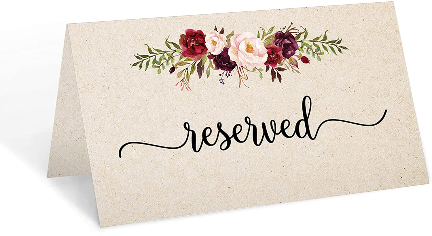 321Done Reserved Place Cards 3.5