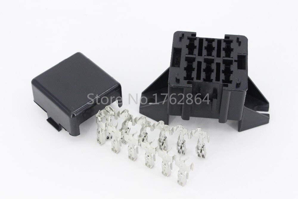 Chavis 6 Way Auto fuse box assembly With terminals Dustproof fuse box fuse box mounting fuse box