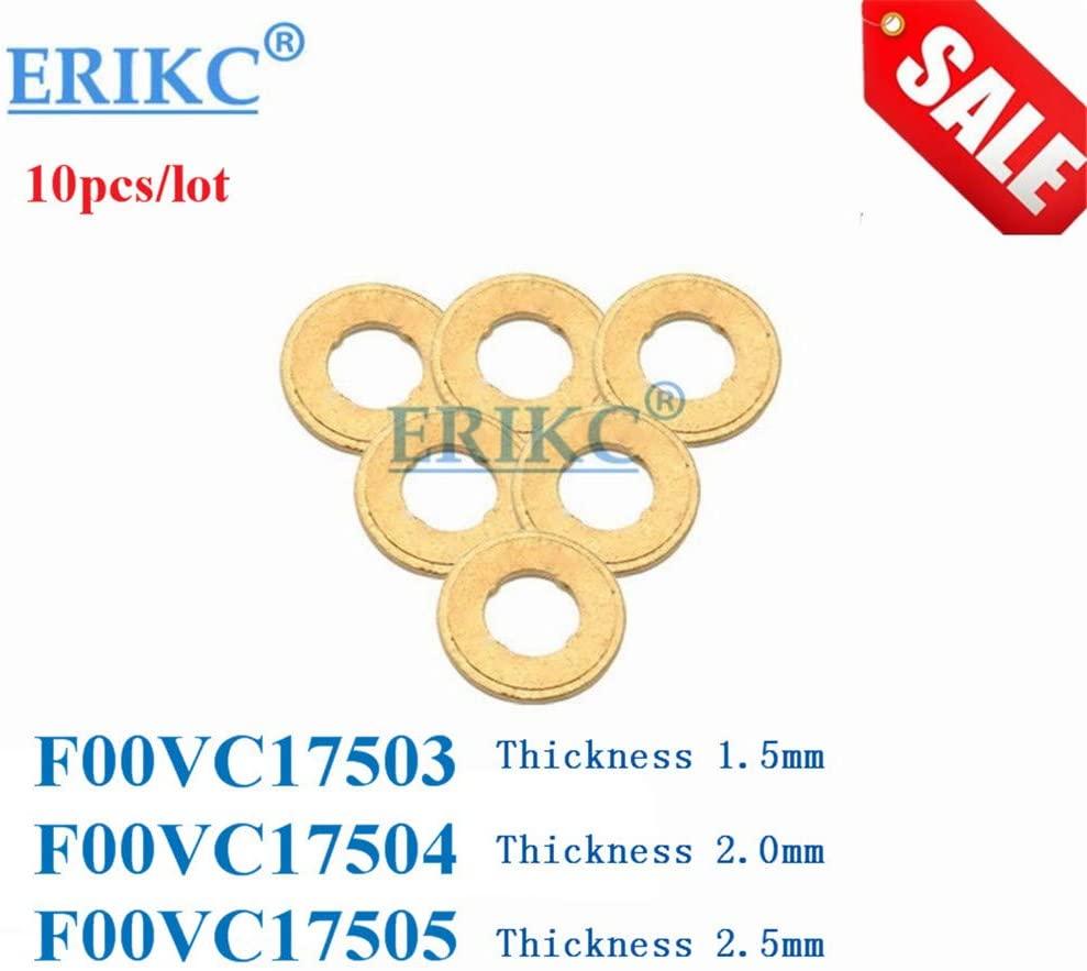 ERIKC F00VC17502 Size: 7.1151.00mm Nozzle copper washer Hot Sale injector copper washer CR F00V C17 502 Size: 1.00mm
