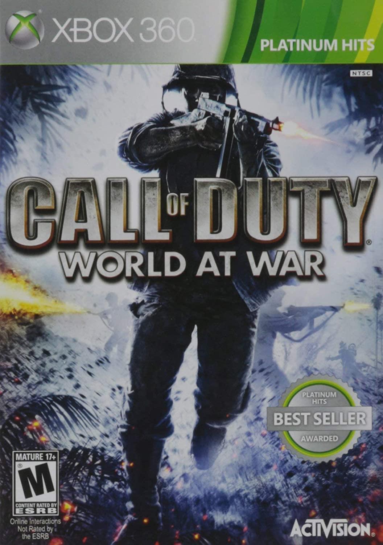 Call of Duty: World At War Xbox 360 (Renewed)