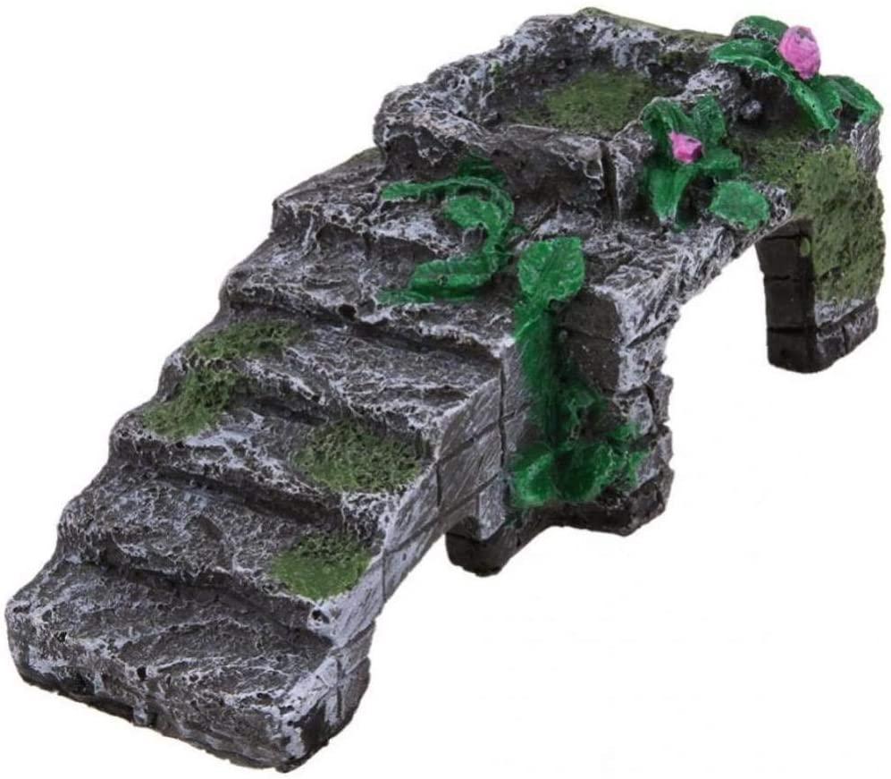 Resin Turtle Reptile Platform Toy Aquatic Climb Ornament Aquarium Amphibian Climb Tank Staircase