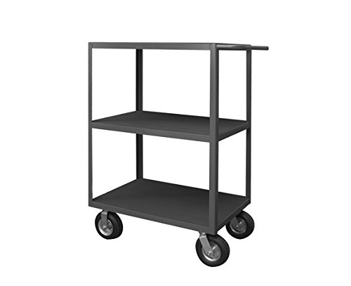 Durham RIC-243650-3-95 Rolling Instrument Cart, 3 Shelves