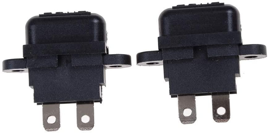 Chavis 2PCS Waterproof Medium Size Car Auto Plug In Fuse Automotive Fuse Holder