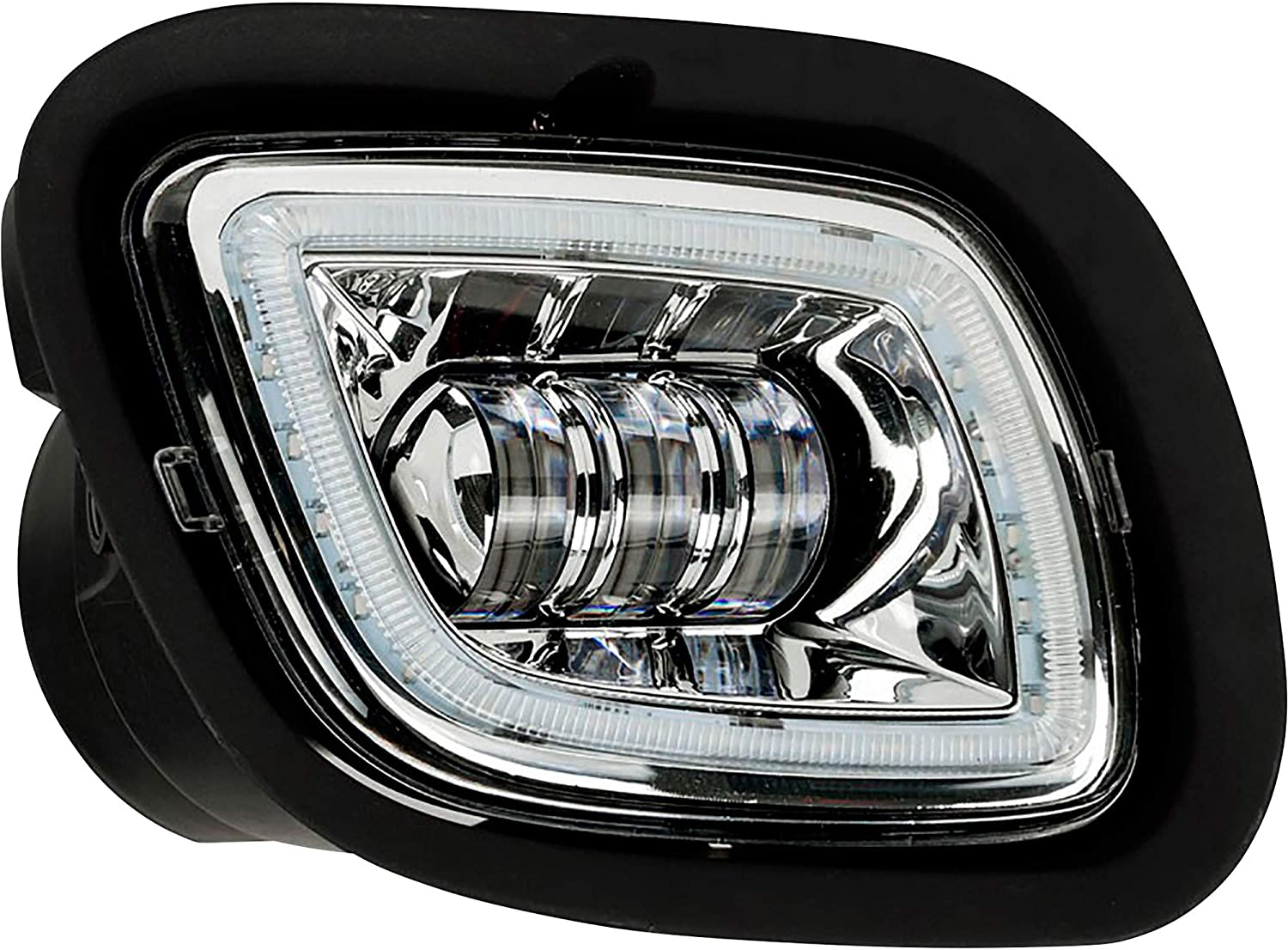 Trux Accessories TLED-H29 Freightliner Cascadia LED Fog/Driving Light - 3000 Lumens (6 Diodes) - Chrome - Passenger