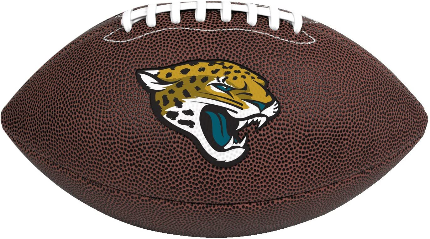 Rawlings Official NFL Air It Out Gametime Football, Youth Size, Jacksonville Jaguars