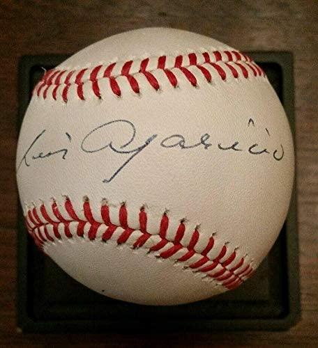 Luis Aparicio Autographed Baseball - Certified HOF - JSA Certified - Autographed Baseballs