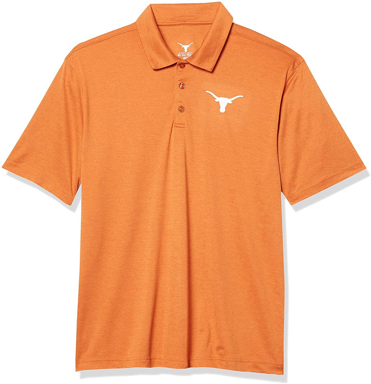 University of Texas Authentic Apparel NCAA Mens Pine Polo
