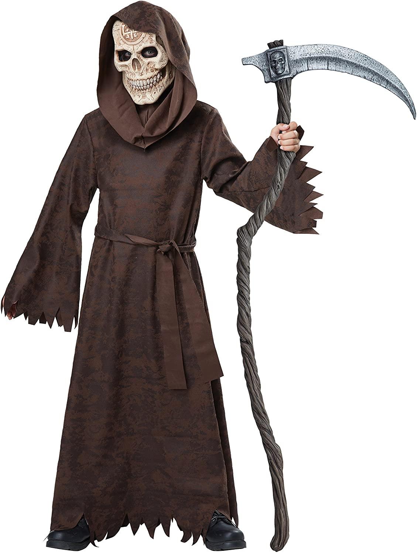 California Costumes Ancient Reaper Costume, Large, Brown