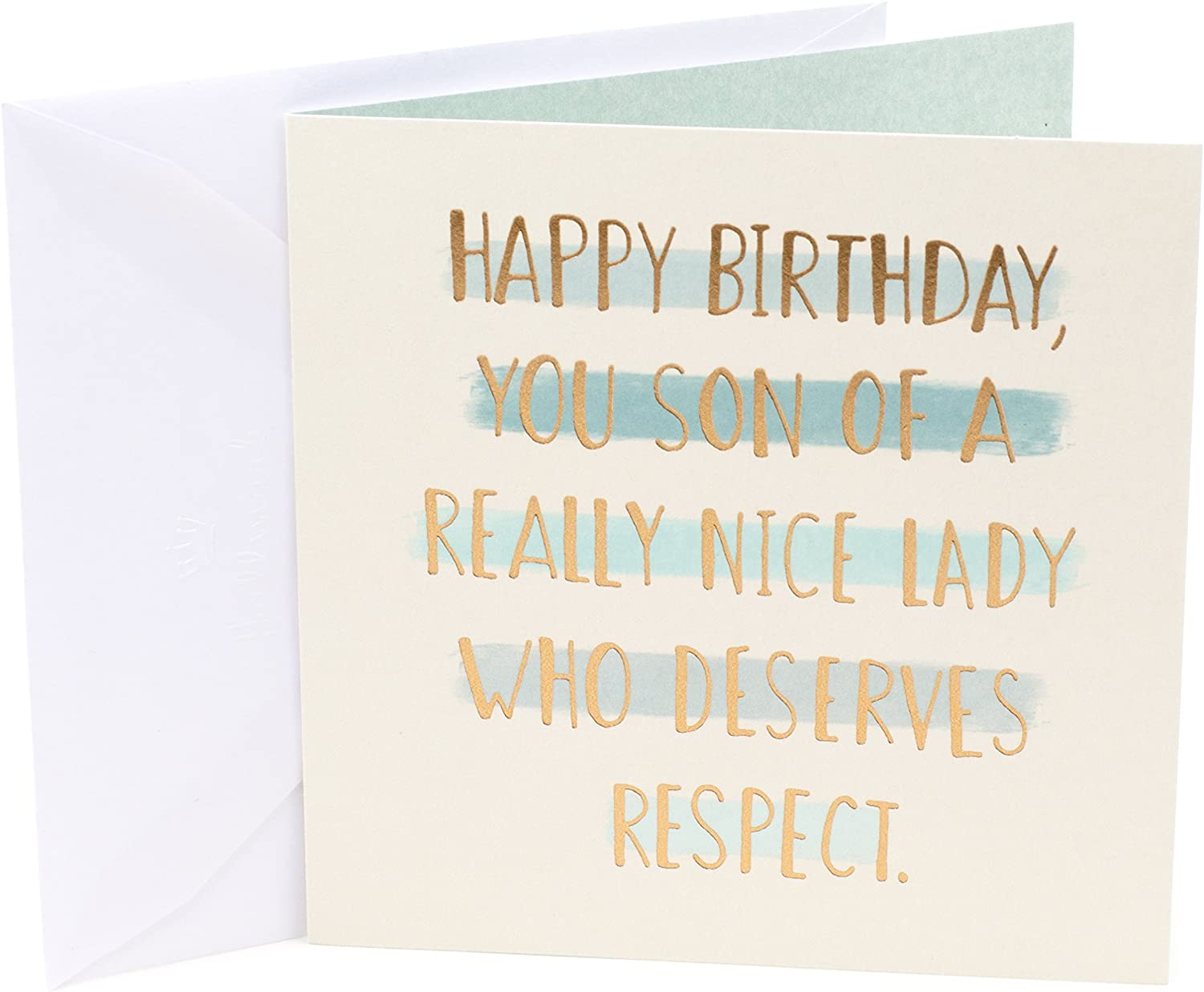 Hallmark Studio Ink Birthday Card  (Son of a)