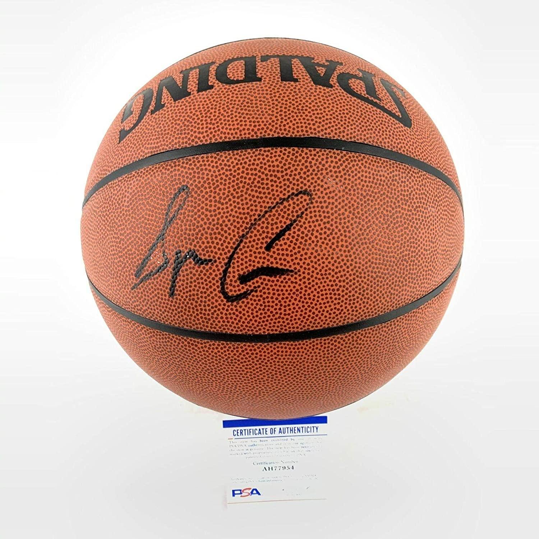 Speedy Claxton Autographed Basketball - Spalding - PSA/DNA Certified - Autographed Basketballs