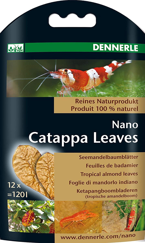 Dennerle Nano Catappa Leaves - 12 pcs