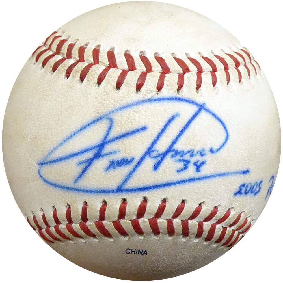 Felix Hernandez Autographed Official 2005 PCL Game Used Baseball Seattle Mariners ITP #4A52826 - PSA/DNA Certified