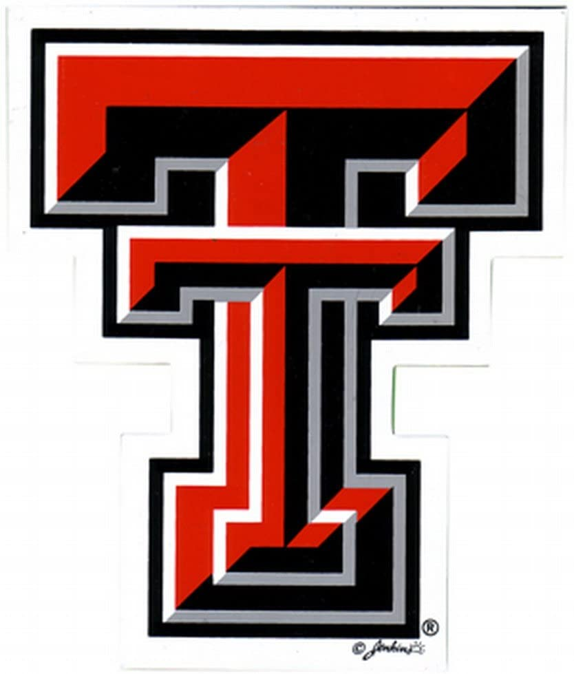 NCAA Texas Tech Red Raiders Car Magnet Sm