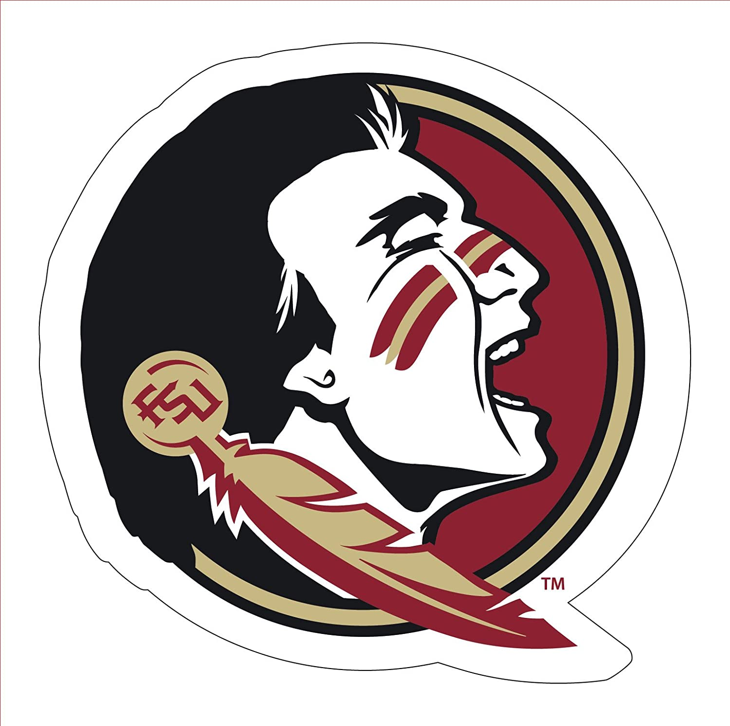 Florida State Seminoles Mascot Magnet-Florida State Seminoles Magnet-Perfect for Your CAR OR Any Metal Surface