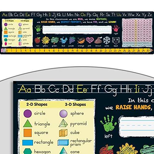 Chalkboard Style Self Adhesive Vinyl Desktop Helpers Primary