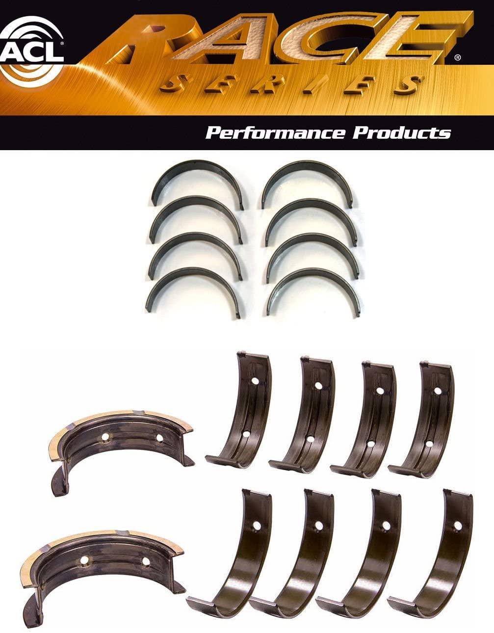 ACL Race Rod+Main Bearings for Subaru WRX STi EJ20 EJ25 w/52mm+#5 thrust STD (STD Sizes)