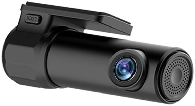 Smart WiFi Car Camera Recorder Full HD 1920x1080P 170°Wide Angle,WDR,Motion Detection,Night Vision,G-Sensor,Loop Recording