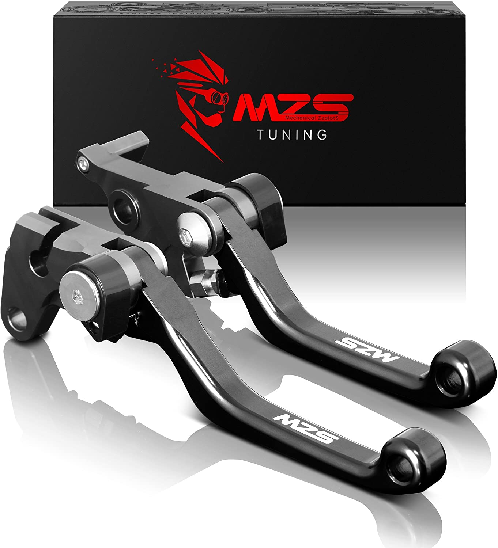 MZS Pivot Levers Clutch Brake CNC Black PT-8384