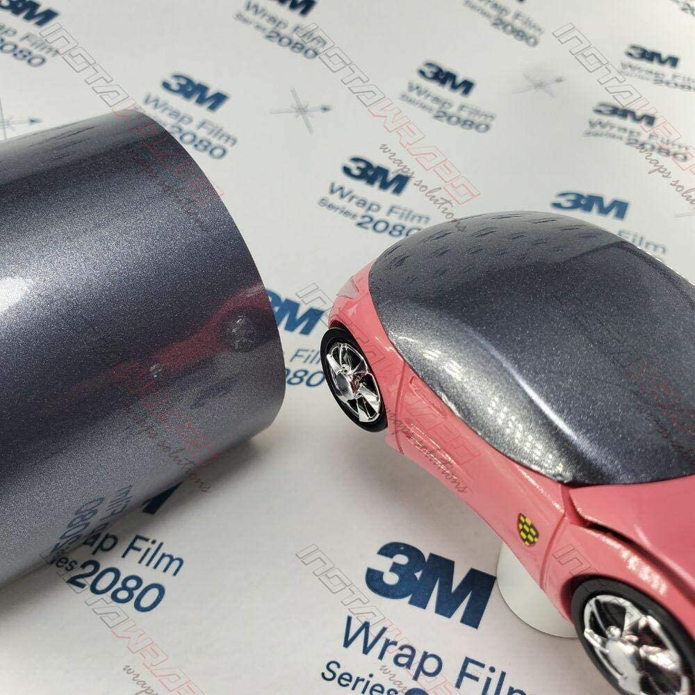 3M 1080 Gloss Anthracite | G201 | Vinyl CAR WRAP Film (5ft x 10ft (50 Sq/ft)) w/Free-Style-It Pro-Wrapping Glove