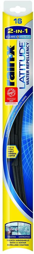 Rain-X 5079274-2 Latitude 2-in-1 Water Repellency Wiper Blade - 16-inches