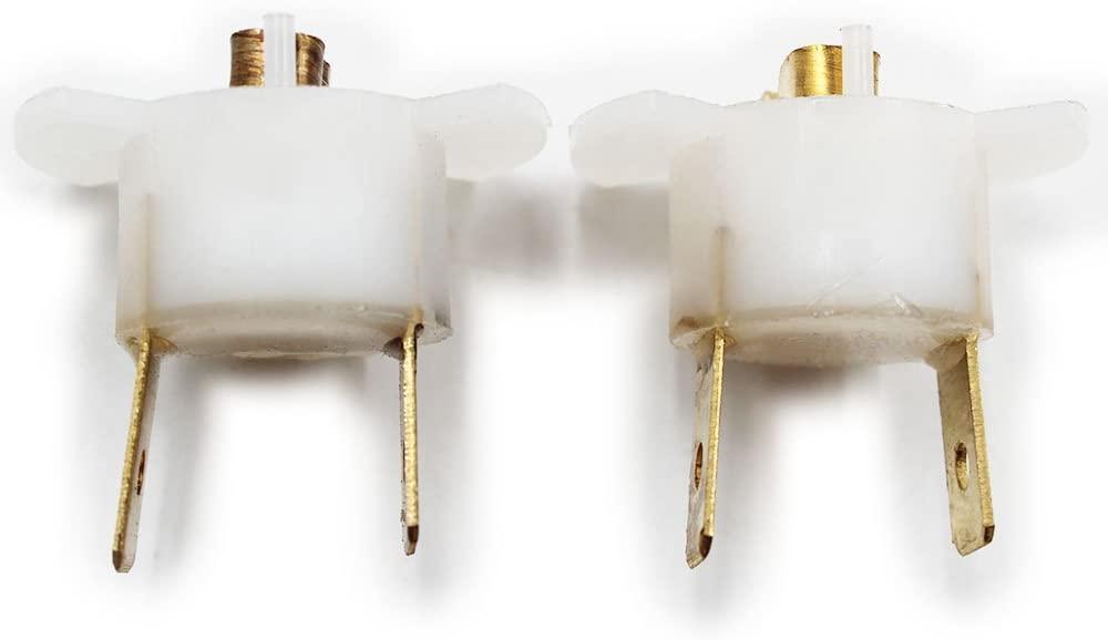 Hotwin 2Pcs H1 Halogen Headlight Bulb Socket Holder 33116-SD4-961 Compatible with Honda CRV CR-V Prelude Acura