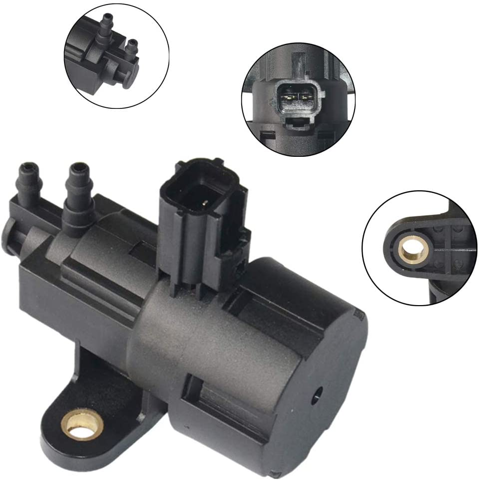 E GR Vacuum Solenoid Valve Fits for Fo-rd Contour Escape F150, Lincoln LS Navigator, Mercury Mariner Mountaineer F63Z9J459AA GELUOXI