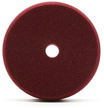 Polishing & Grinding 6'' Imported Sponge Polishing Pad Car Waxing Buffing Polisher Pad Sponge Flat Sanding Pad - (Color: Wine Red)