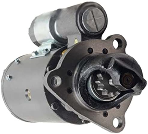 Rareelectrical NEW 12V STARTER COMPATIBLE WITH DETROIT DIESEL INDUSTRIAL ENGINES 3-53 4-53 323718 1113228