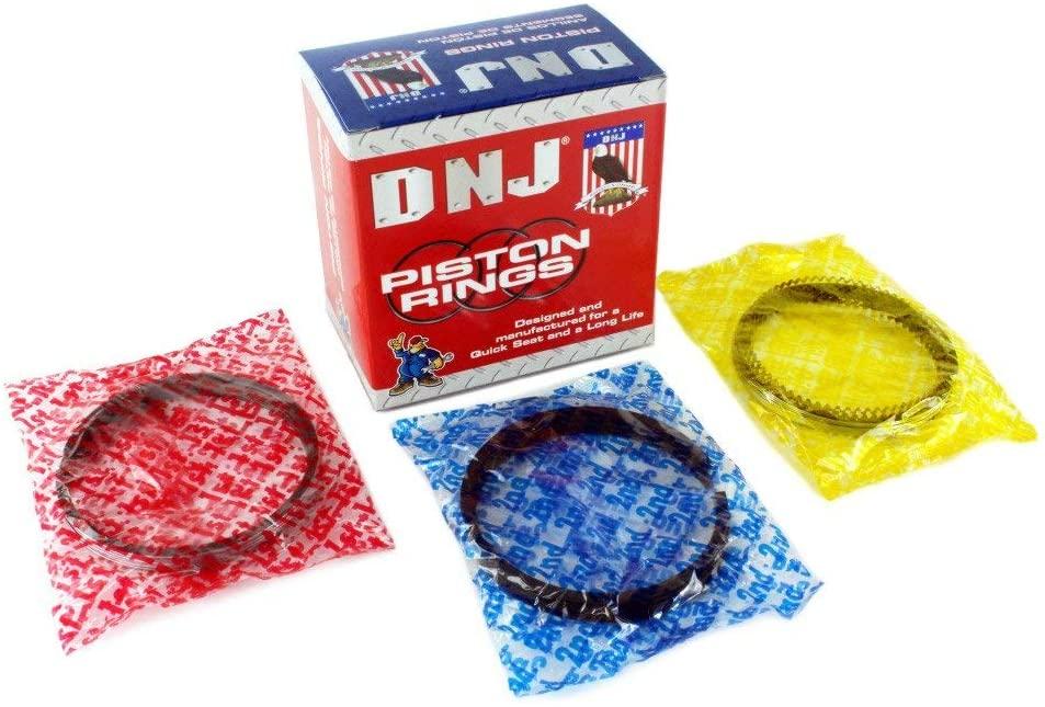 DNJ PR1180.40 Oversize Piston Ring Set For 94-03 Dodge 8.0L MAGNUM OHV 20V