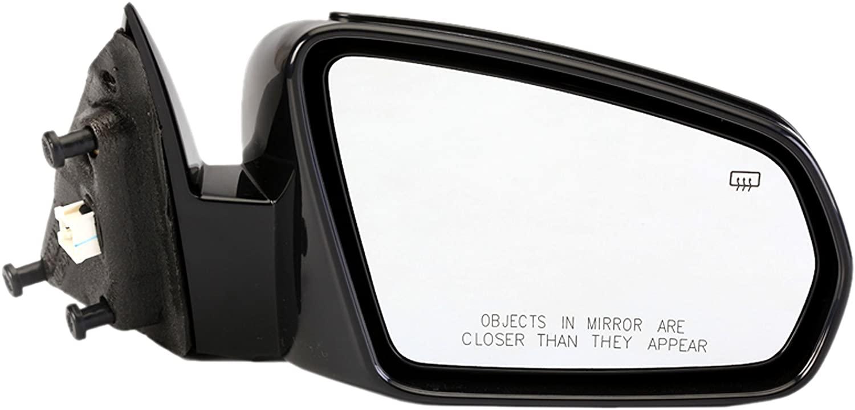Dorman 955-715 Passenger Side Power Door Mirror - Heated for Select Chrysler Models, Black